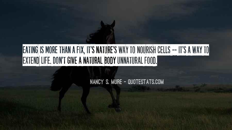Quotes About Nourish #104313