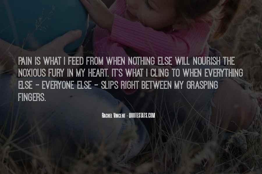 Quotes About Nourish #125919