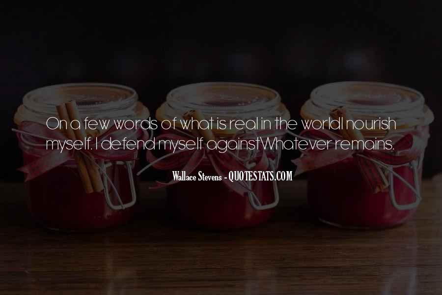 Quotes About Nourish #164473