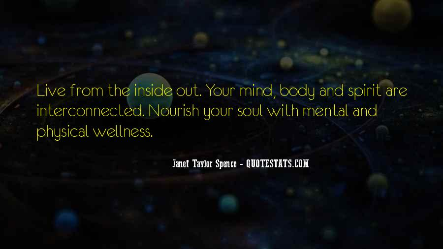 Quotes About Nourish #312234