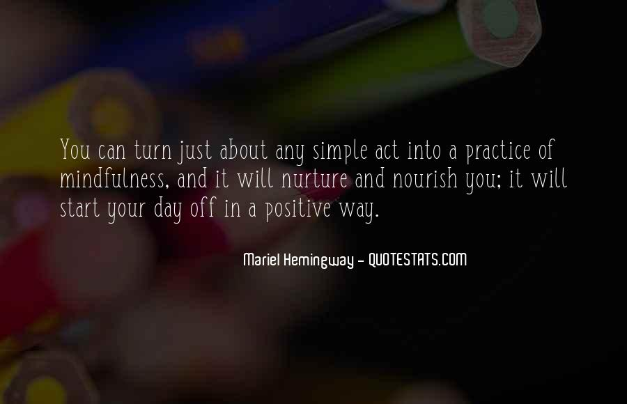 Quotes About Nourish #459139