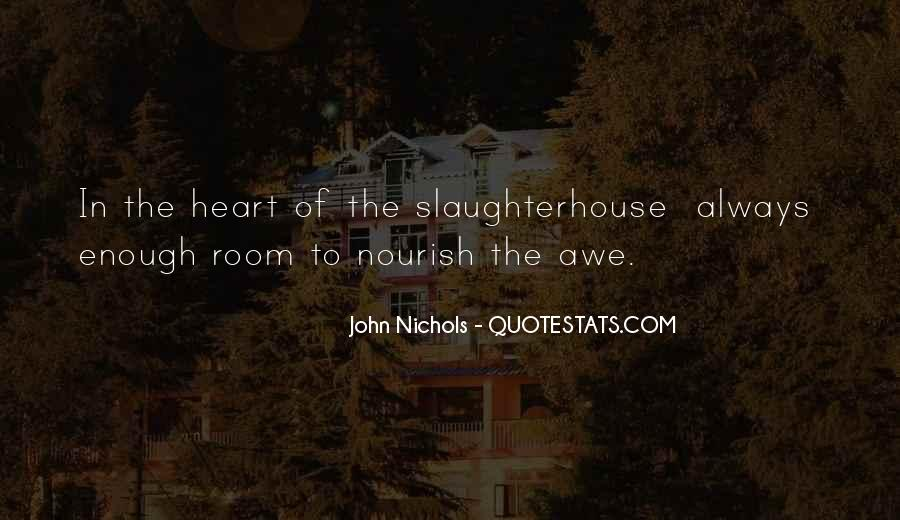 Quotes About Nourish #521783