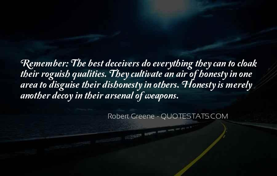 Quotes On Honesty And Dishonesty #1049380