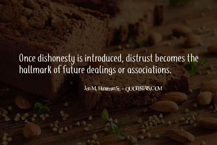 Quotes On Honesty And Dishonesty #1099126