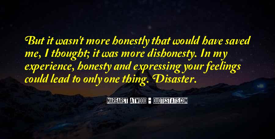 Quotes On Honesty And Dishonesty #1222317