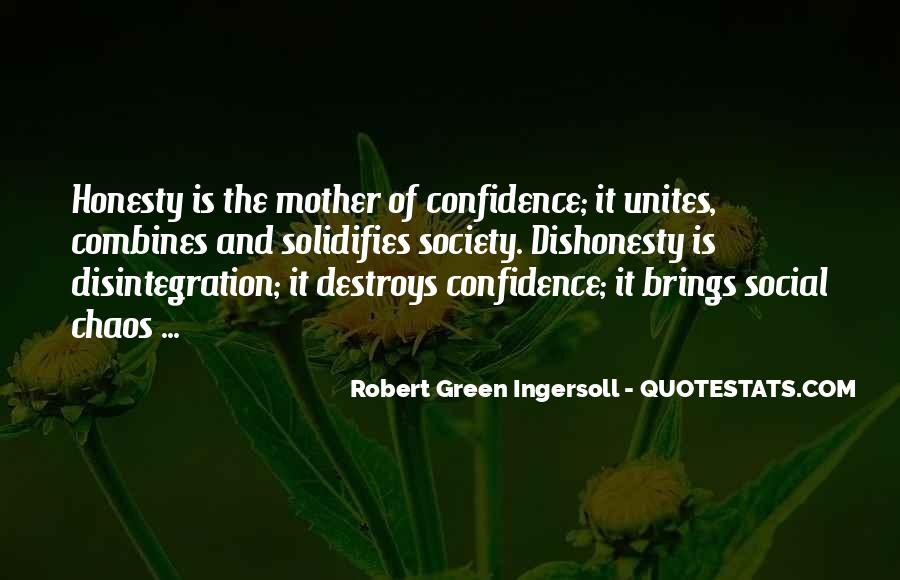 Quotes On Honesty And Dishonesty #1285482