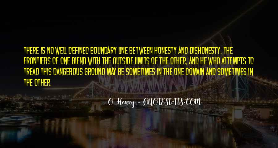 Quotes On Honesty And Dishonesty #132259