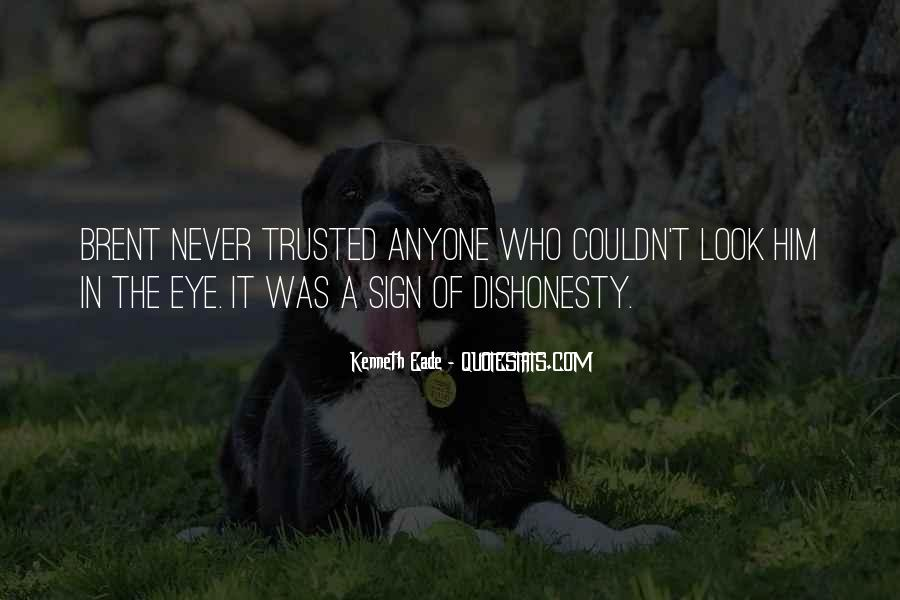 Quotes On Honesty And Dishonesty #1346430