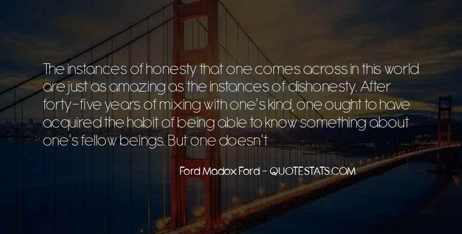 Quotes On Honesty And Dishonesty #1455492