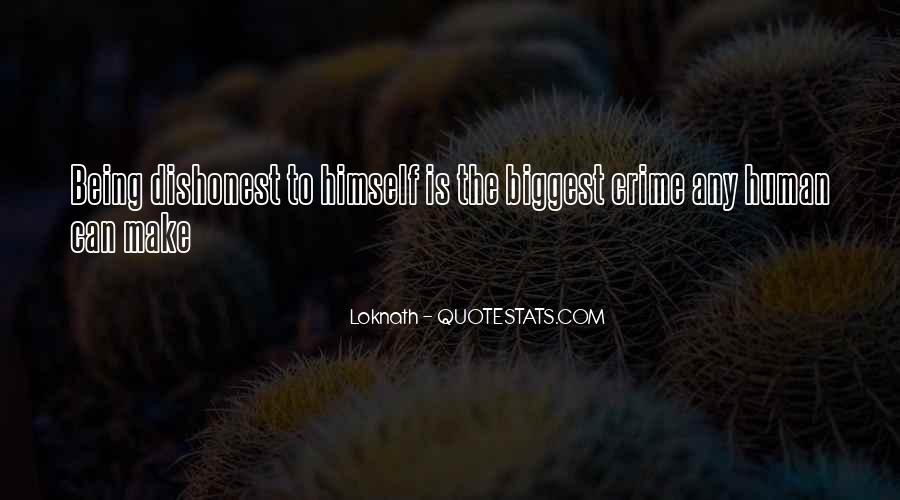 Quotes On Honesty And Dishonesty #1500552