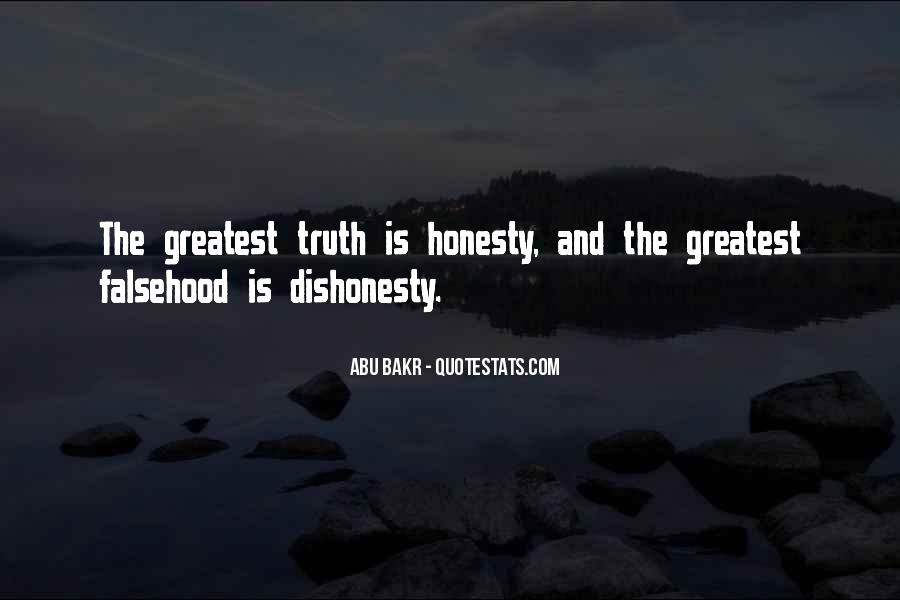 Quotes On Honesty And Dishonesty #1632988