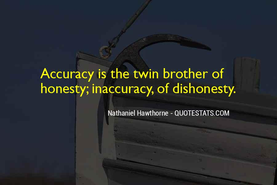 Quotes On Honesty And Dishonesty #1725781