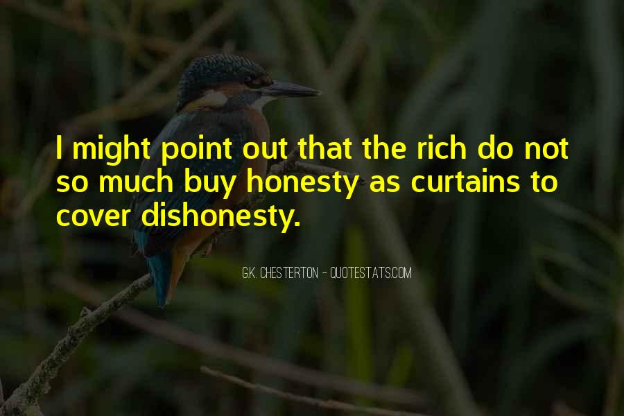 Quotes On Honesty And Dishonesty #323981