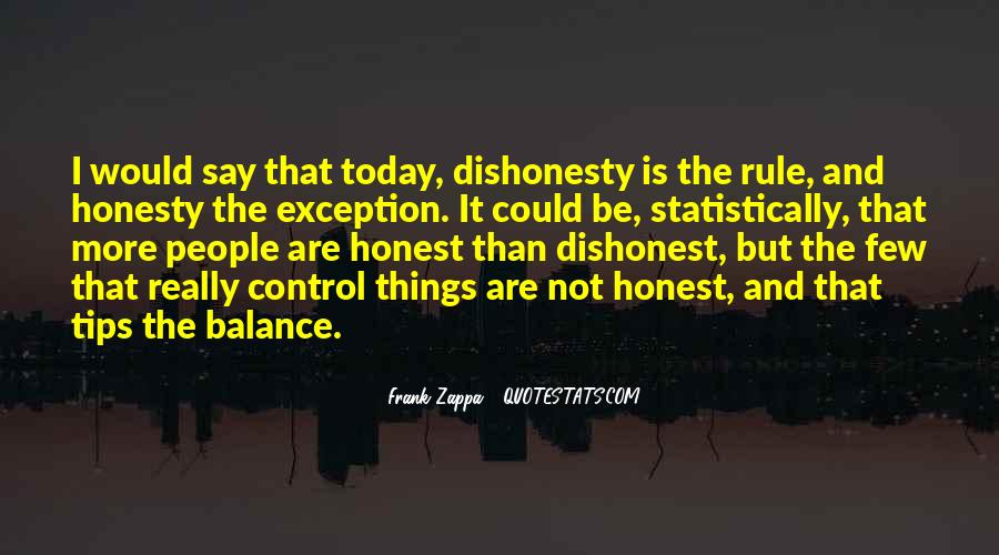 Quotes On Honesty And Dishonesty #959183