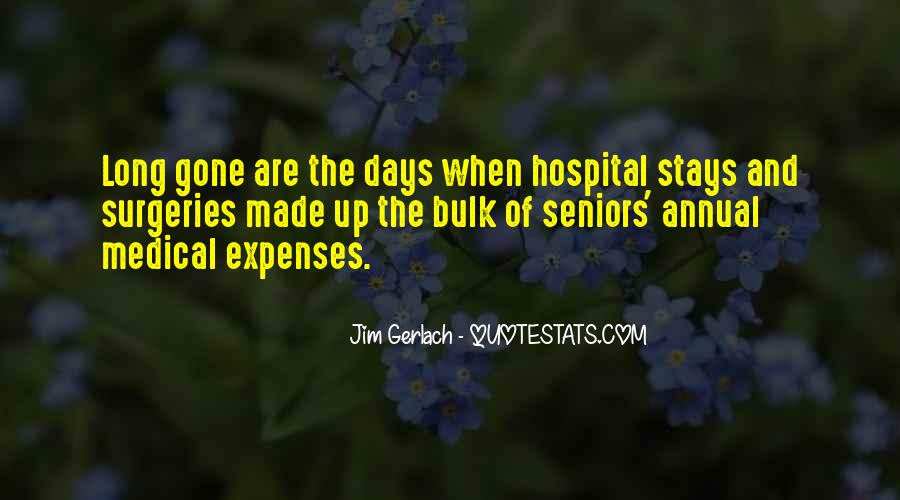 Quotes On Hospital Expenses #1755302