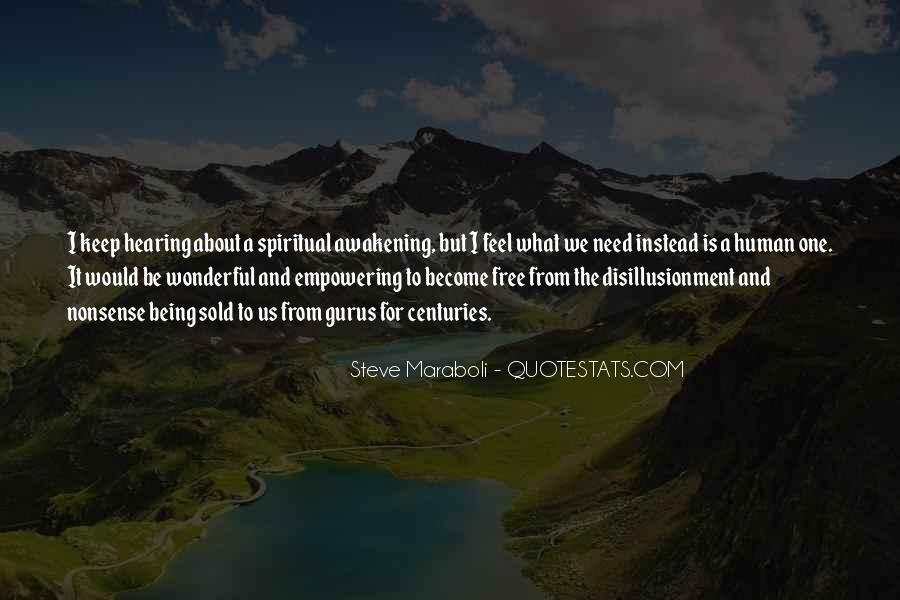 Quotes On Human Spirituality #1153215