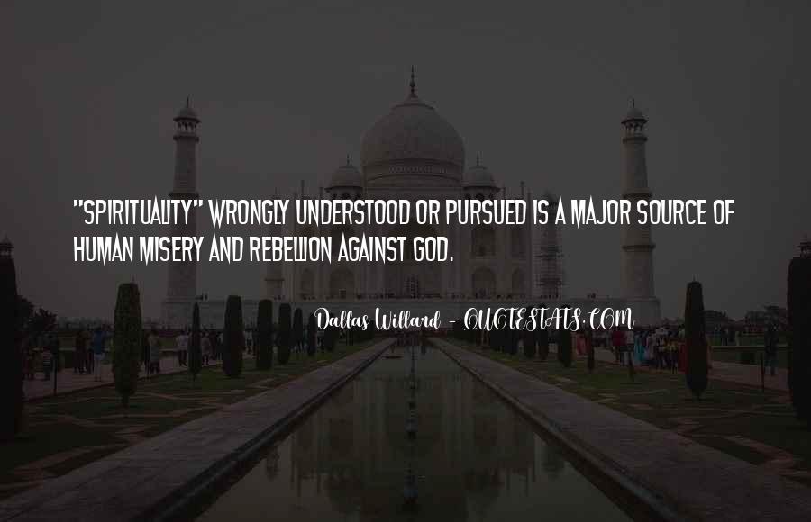 Quotes On Human Spirituality #1176075