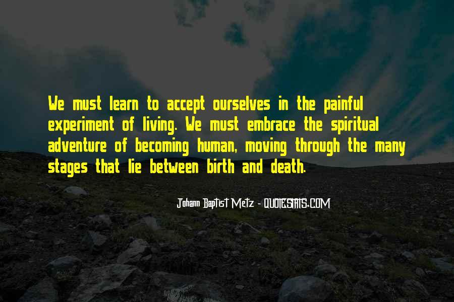 Quotes On Human Spirituality #122252