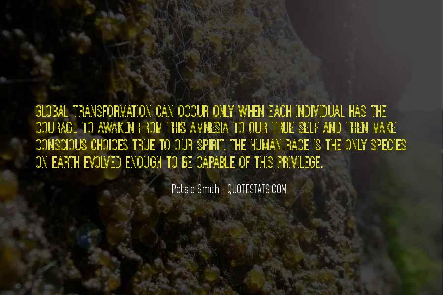 Quotes On Human Spirituality #296198