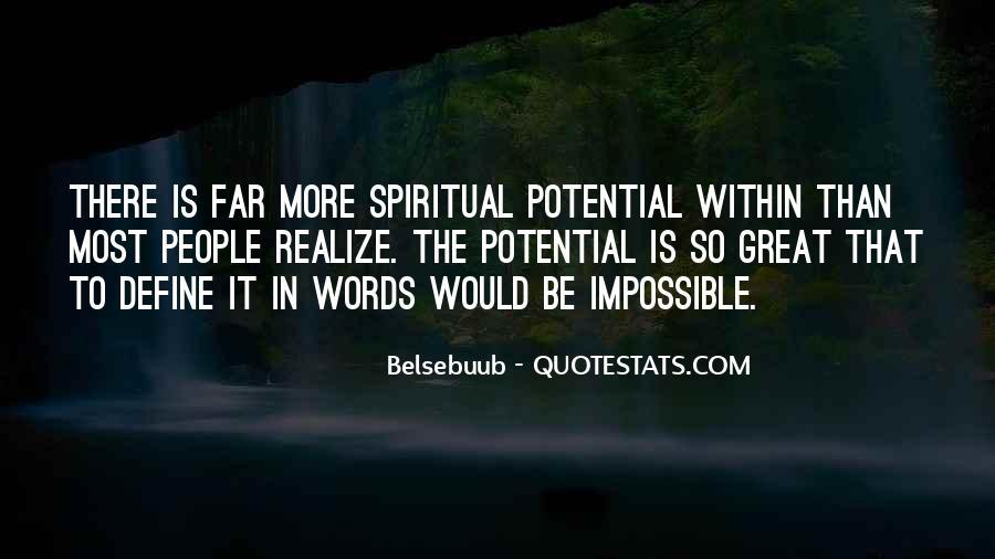 Quotes On Human Spirituality #349033