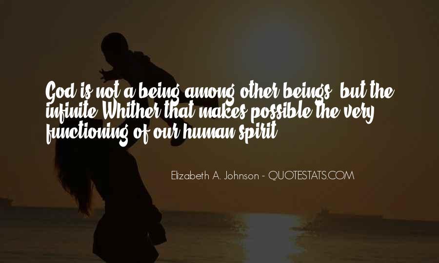 Quotes On Human Spirituality #400791