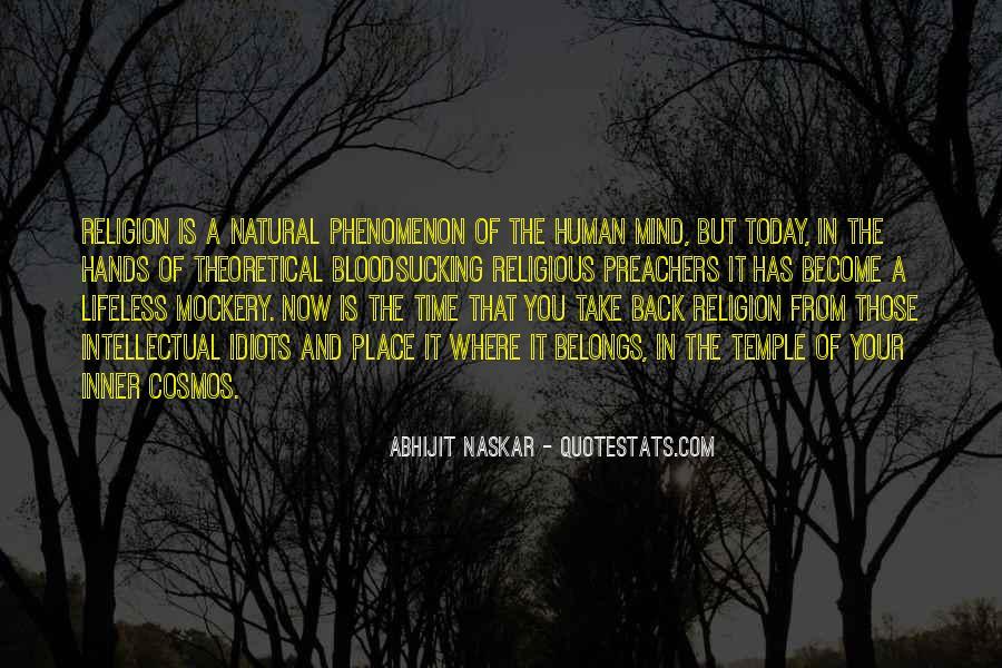 Quotes On Human Spirituality #433758