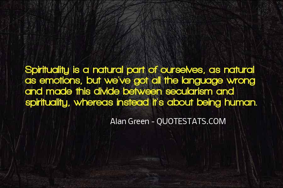 Quotes On Human Spirituality #486894