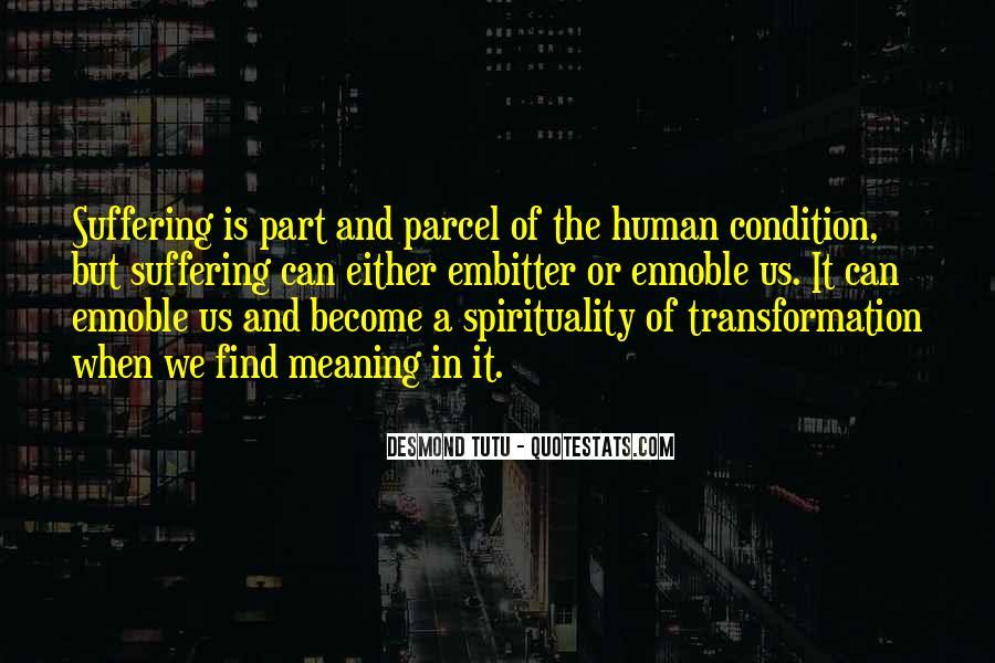 Quotes On Human Spirituality #581306