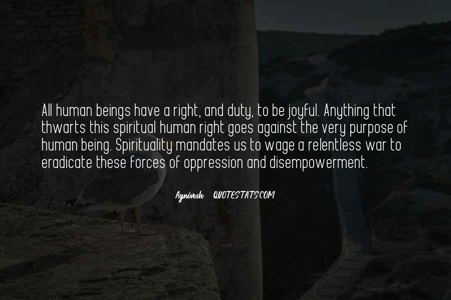 Quotes On Human Spirituality #688893