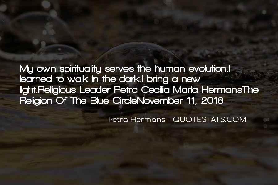 Quotes On Human Spirituality #86787