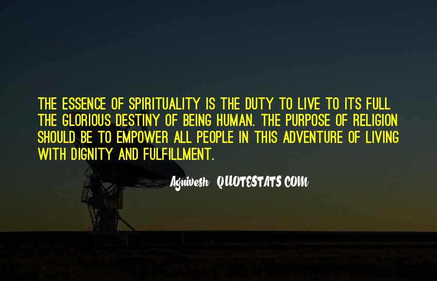 Quotes On Human Spirituality #925742
