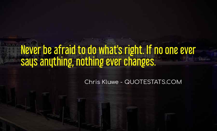 Quotes About Nothing Changes #351035