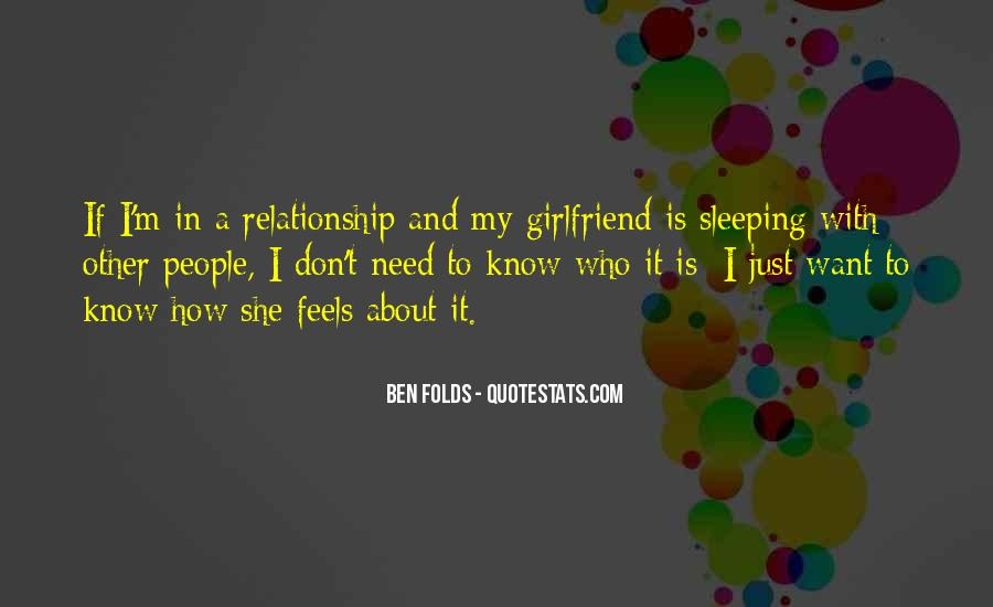 Quotes On In A Relationship #69062