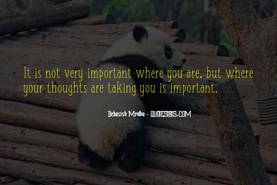 Quotes On Inspirational Thoughts #101717
