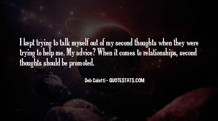 Quotes On Inspirational Thoughts #207300
