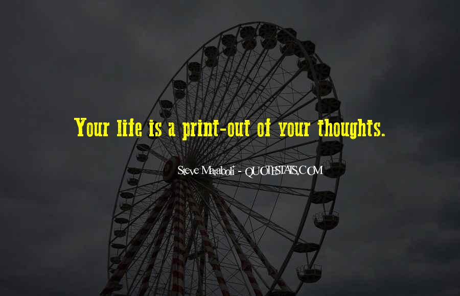 Quotes On Inspirational Thoughts #9809