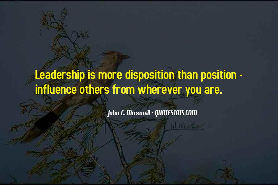 Quotes On Leadership John Maxwell #102021