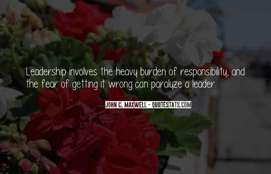 Quotes On Leadership John Maxwell #1046098