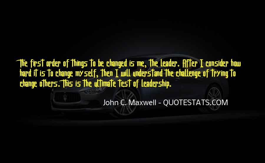 Quotes On Leadership John Maxwell #1085219