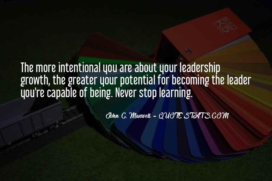Quotes On Leadership John Maxwell #1099010