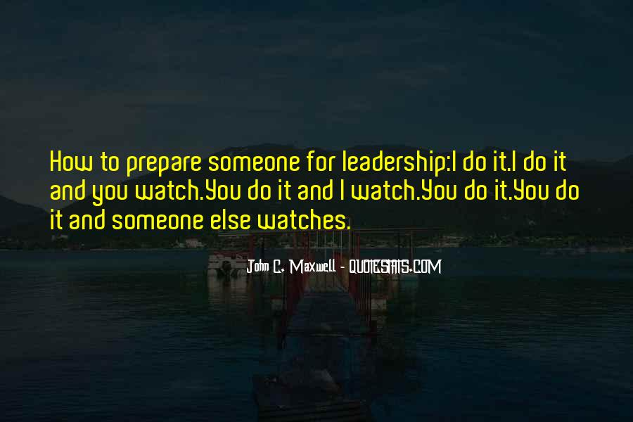 Quotes On Leadership John Maxwell #1107981