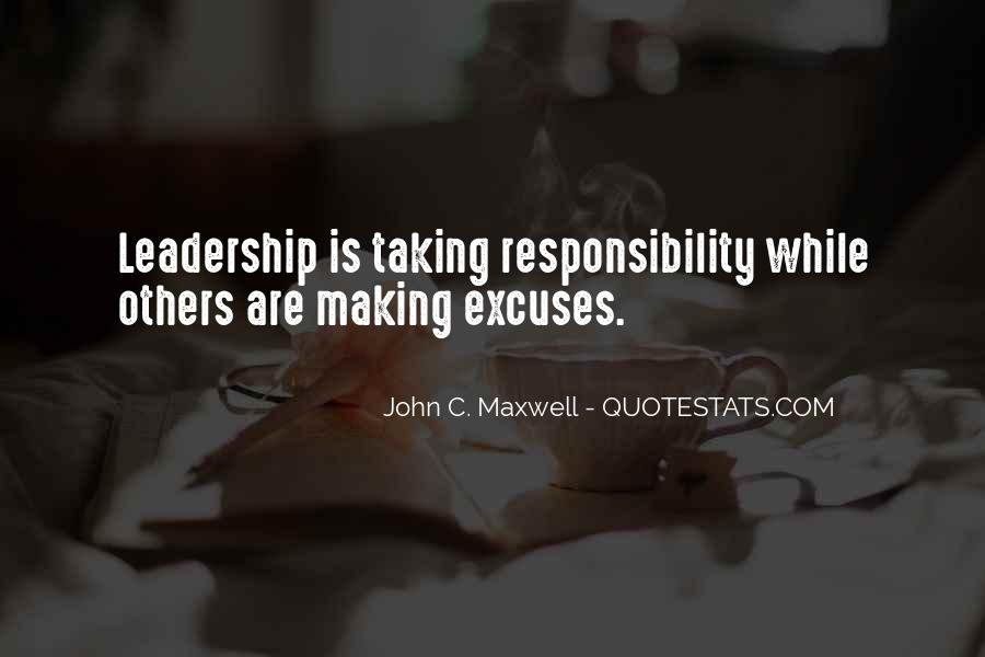 Quotes On Leadership John Maxwell #1114924