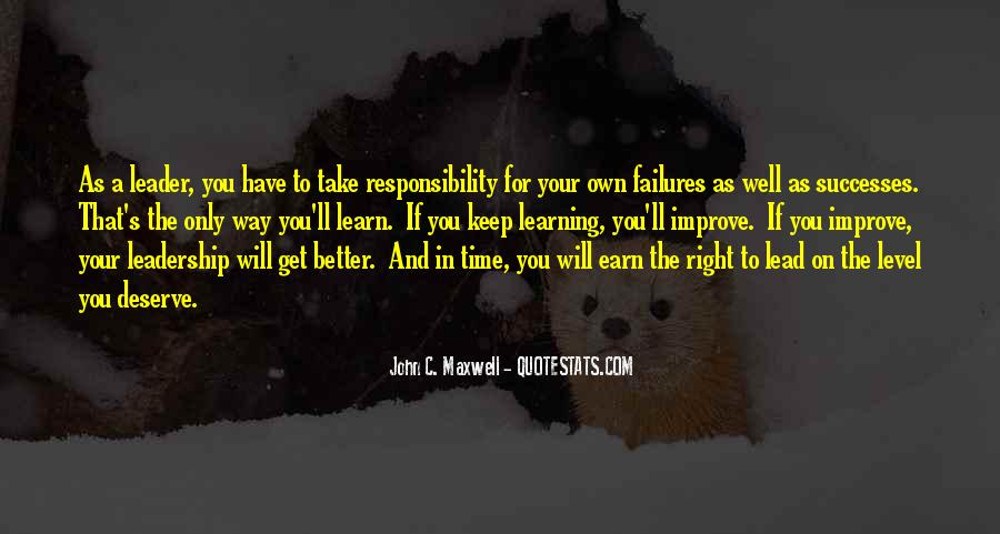 Quotes On Leadership John Maxwell #1146255