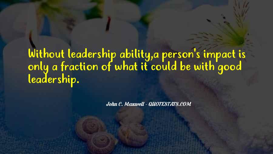 Quotes On Leadership John Maxwell #1179975