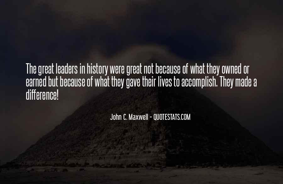 Quotes On Leadership John Maxwell #1301764