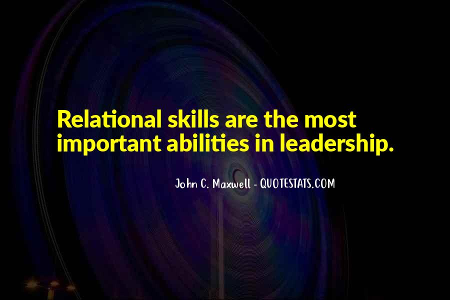 Quotes On Leadership John Maxwell #130895