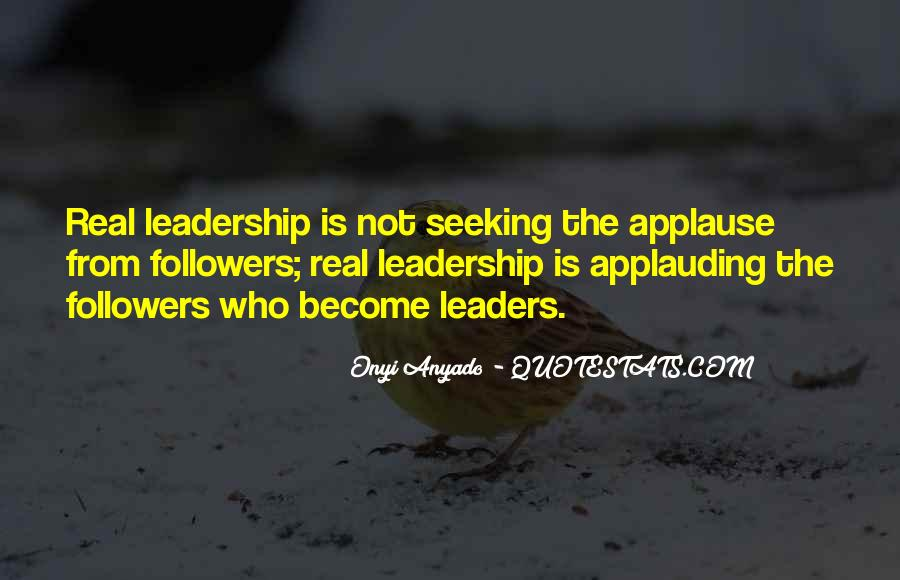 Quotes On Leadership John Maxwell #214853