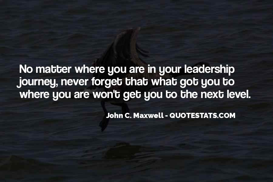 Quotes On Leadership John Maxwell #274306