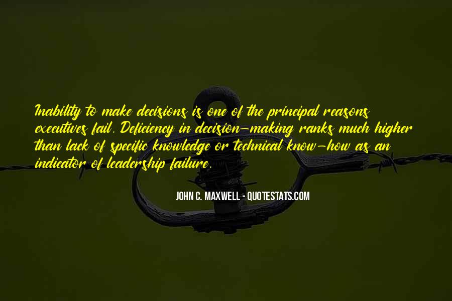 Quotes On Leadership John Maxwell #371753