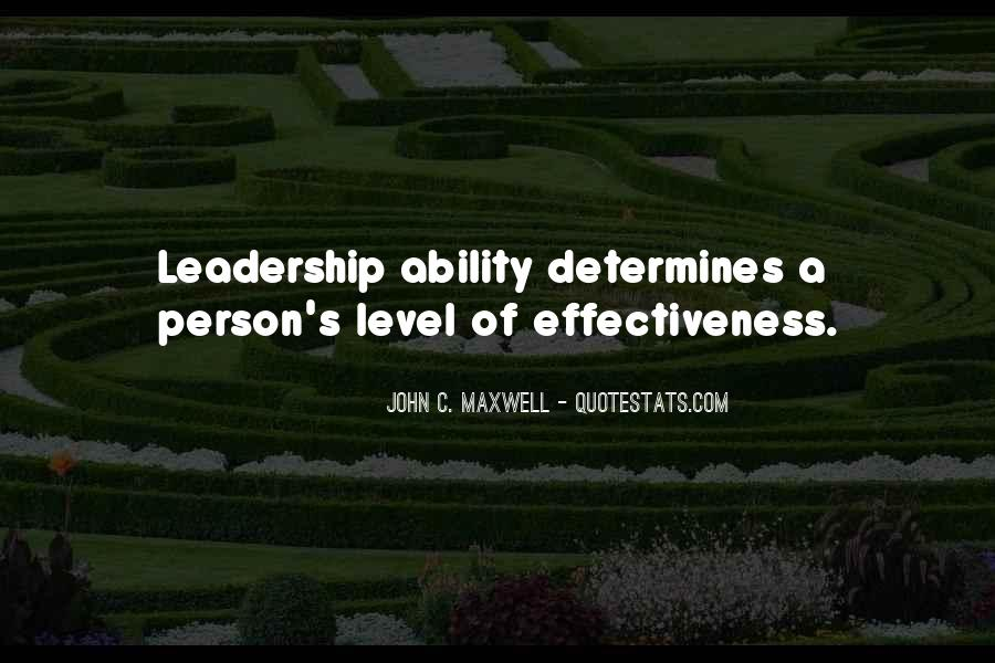Quotes On Leadership John Maxwell #465994